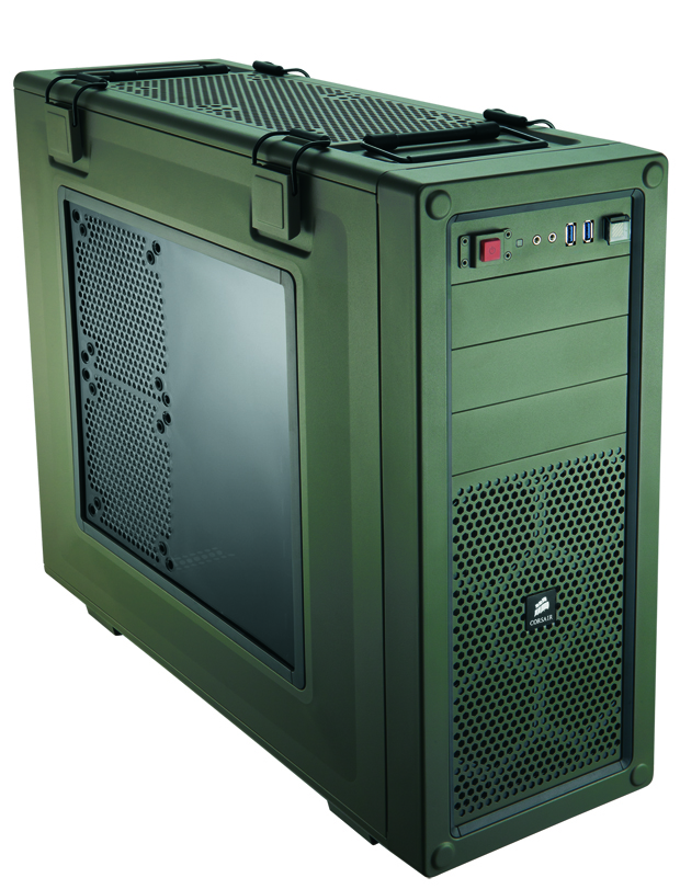 The rugged C70 case makes our Crysis 3 system look battle-ready.