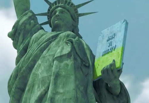 Asus Statue of Liberty